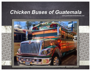Chicken Bus Calendar Cover